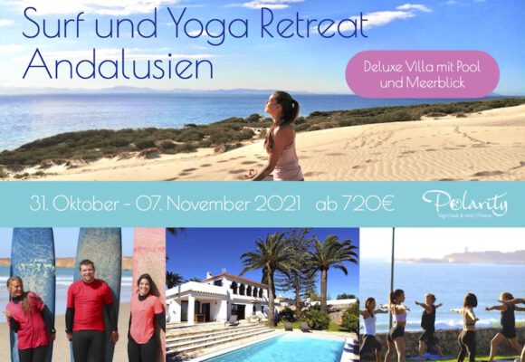 Luxus Surf und Yoga Retreat Spanien