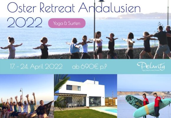 Oster Yoga und Surf Retreat Spanien