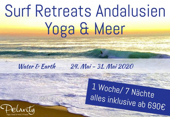 Yoga und Surf Retreat Spanien