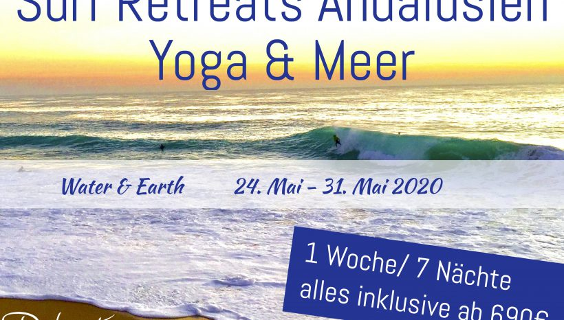 Yoga und Surf Retreat Spanien