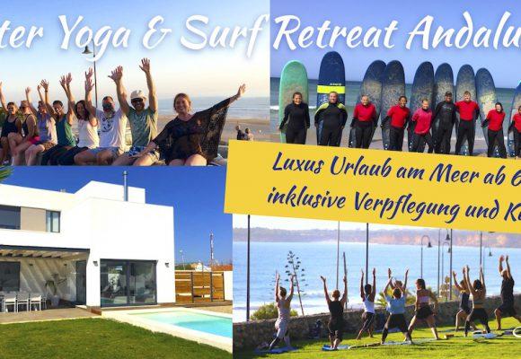 Oster Yoga und Surf Retreat Spanien