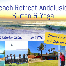Beach Surf Retreat Spanien