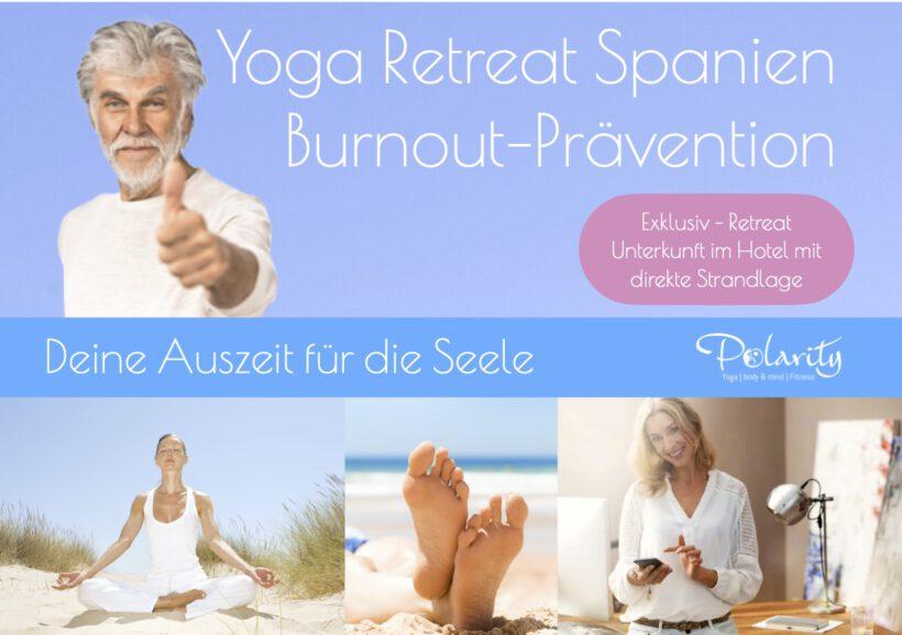 Burnout Yoga Retreat Spanien